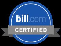 Bill.com certified partner badge